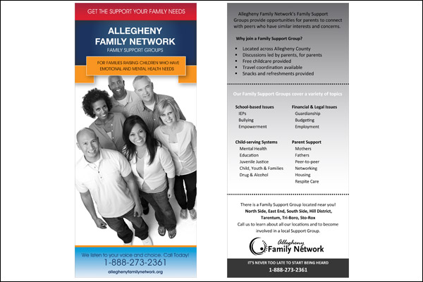 Allegheny Family Network Family Group Support Brochure